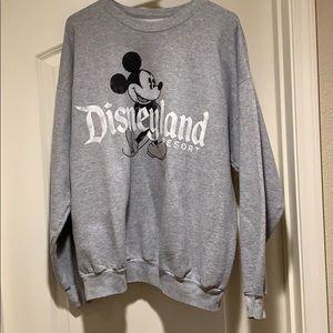 Disneyland Resort XL Gray Crewneck Sweatshirt